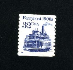 USA #2466 used 1990-95 PD .08