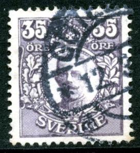 SWEDEN - SC #87 - used - 1911 - Item SWEDEN021