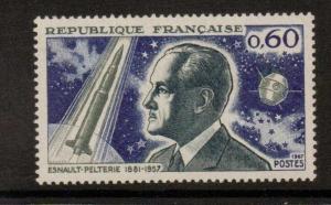FRANCE SG1754 1967 ROCKET PIONEER MNH
