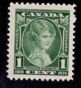 CANADA Scott 211 MH* Stamp Princess Elizabeth