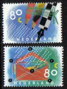 Netherlands 1993 MNH Letter Writing Campaign complete