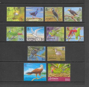 BIRDS - SOLOMON ISLANDS #903-13A  MNH