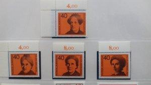 Germany 1974 Famous Women Mint