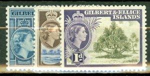 B: Gilbert & Ellice 61-72 mint CV $66.75; scan shows only a few
