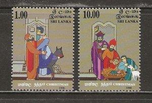 Sri Lanka Scott catalog # 986-987 Mint NH See Desc