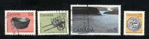 Can #1080,1082-84   -1  used VF  PD