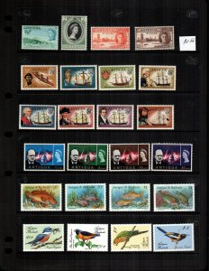 Antigua 24  diff mint never hinged MNH