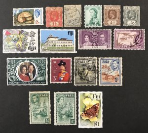 Fiji Misc Mint & Used lot #110520
