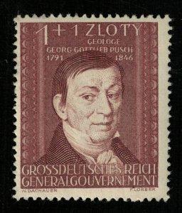 1944, GrossDeutsches Reich, Generalgouvernement, 1+1 ZLOTY, MNH, ** (T-9312)