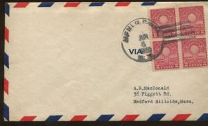1929 Menlo Park New Jersey Edison's First Lamp Air Mail First Day Cover
