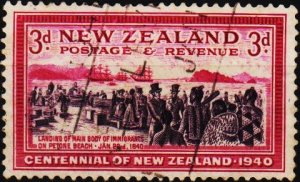 New Zealand. 1940 3d S.G.618 Fine Used