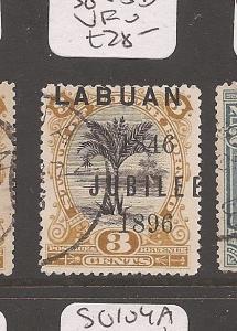 Labuan Jubilee 3c Tree SG 85d VFU (9auq)