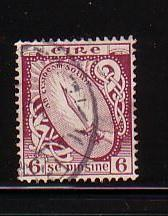 Ireland Sc 73 1922 6d Sword of Light stamp  used