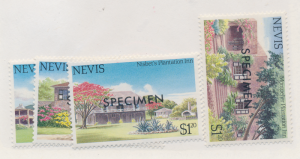 Nevis Stamps Scott #280 To 283, Mint Never Hinged, Specimens - Free U.S. Ship...