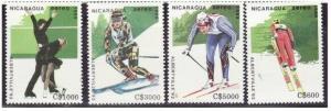Nicaragua - Olympic Games - 7 Stamp Set & S/S C1180-7
