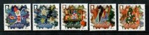 Gibraltar #1483-1487  MNH  Scott $8.75