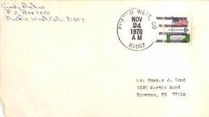 United States Colorado Pueblo West 81007 1970 4-bar  1969-1984  Philatelic.