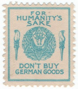 (I.B) US Cinderella : Don't Buy German Goods (Jewish War Veterans)