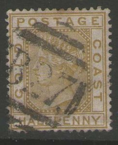 Gold Coast 1883 QV Sc 10 FU