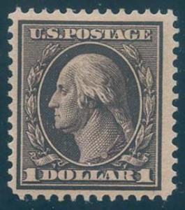 US Scott #342 Mint, FVF, HR
