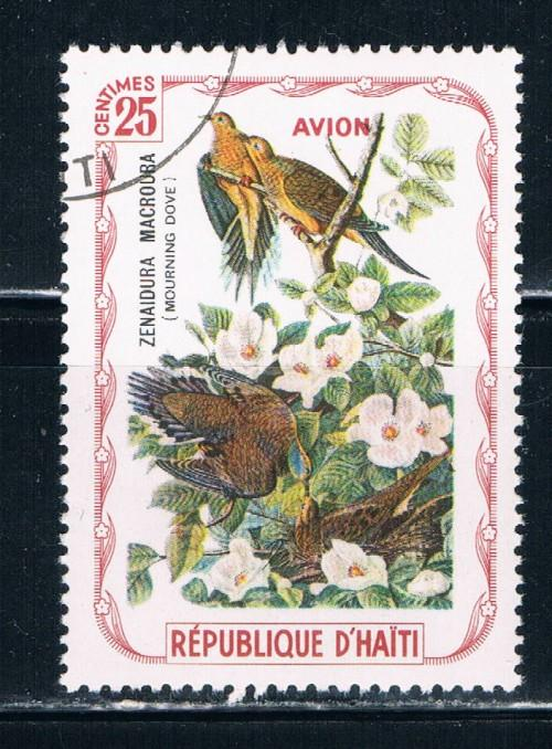 Haiti  Used Birds Morning Dove (H0014)