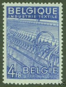 BELGUM BELGIQUE Scott 383 MH* Textile stamp CV $8