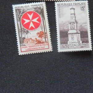 France 797, 798, 800- Unused VF, OG.VLH. Cv. $1.20