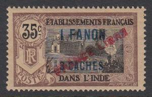 French India 115 MNH (see notes) CV $125.00