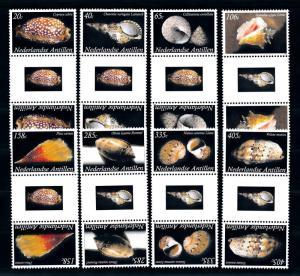 [95169] Netherlands Antilles 2008 Shells Gutter Pairs MNH