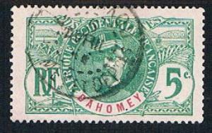 Dahomey 20 Used General Faidherbe (BP08621)