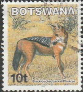 Botswana, #742 Used From 2002