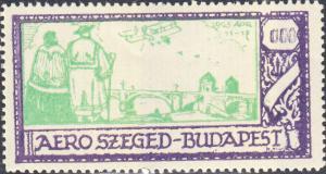 Hungary - Aero Szeged-Budapest 1925