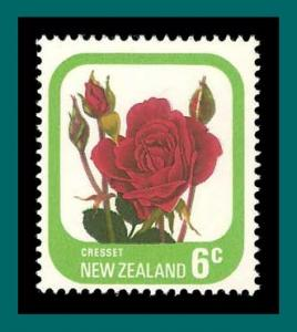 New Zealand 1975 Cresset Rose, 6c MNH  589a,SG1091