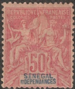 Senegal #49 M/H 25% of SCV $45.00 **FREE SHIPPING**