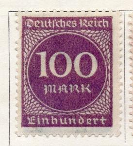 Germany 1923 Early Issue Fine Mint Hinged 100m. 131451