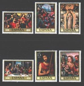 Spain. 1979. 2429-34. paintings painting. MNH.
