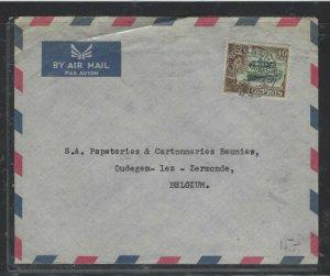 CYPRUS COVER (P2504BB)  QEII  INDEP  40M A/M COVER TO  BELGIUM