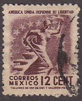 Mexico 790 Hinged Used 1944 Liberty