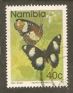 Namibia   Scott 746  Butterfly   Used