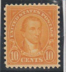 U.S. Scott #642 Monroe Stamp - Mint NH Single