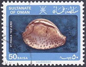 Oman # 231 used ~ 50b Sea Shell