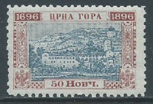 Montenegro, Sc #54, 50n MH