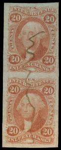 U.S. REV. FIRST ISSUE R42a  Used (ID # 70830)