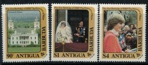 Antigua #663-5* CV $5.20