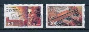 [95030] Chile 1992 Music Mozart Cembalo  MNH