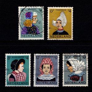 Netherlands 1960 Child Welfare Fund Set [Used]