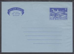 Lesotho mint circa 1973 9c Aerogramme, fresh & VF