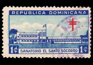 DOMINICAN REPUBLIC. SCOTT # RA11. YEAR 1949. USED.