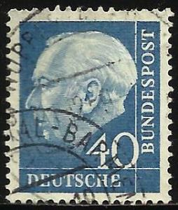 Germany 1956 Scott# 756 Used