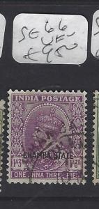 INDIA CHAMBA  (PP2410B)  KGV  1A 3P  SG 66   VFU